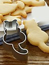 1pc Cooking Utensils For Cookie Stainless Steel Creative Kitchen Gadget High Quality Pasta Tools