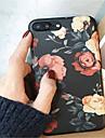 케이스 제품 Apple iPhone X / iPhone 7 Plus 패턴 뒷면 커버 꽃장식 소프트 TPU 용 iPhone X / iPhone 8 Plus / iPhone 8