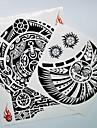 2 pcs Tetovací nálepky dočasné tetování Totemová řada Tělesné Arts rameno
