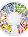 1 Nail Jewelry Stylish Rhinestone Sparkling Casual/Daily Nail Art Tips