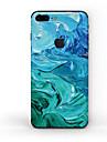 1 piece Autocollant de Protection pour Anti-Rayures Peinture a l\'Huile Motif PVC iPhone 8 Plus
