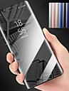 Coque Pour Samsung Galaxy S9 Plus / S9 Avec Support / Miroir Coque Integrale Couleur Pleine Dur PC pour S9 / S9 Plus / S8 Plus