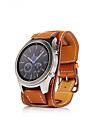 Watch Band for Gear S3 Classic Samsung Galaxy Classic Buckle Genuine Leather Wrist Strap