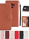 Capinha Para Samsung Galaxy A8 2018 A8 Plus 2018 Porta-Cartao Carteira Com Suporte Flip Capa Protecao Completa Solido Rigida PU Leather