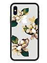 Custodia Per Apple iPhone X / iPhone 8 Plus Fantasia / disegno Per retro Fiore decorativo Resistente Acrilico per iPhone X / iPhone 8 Plus / iPhone 8