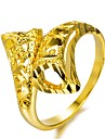 Geometric Band Ring - Gold Plated Fashion 7 / 8 / 9 Gold For Party / Gift