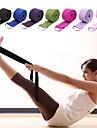Cinturino Yoga Tessile Tessuto elasticizzato Duraturo Fibbia elastica regolabile con anello Fisioterapia Allungamento Migliora la flessibilita Yoga Pilates Esercizi di fitness Per Unisex