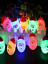 1.5m String Lights 10 LEDs Multi-colors Decorative AA Batteries Powered 1pc