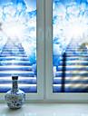Window Film & Stickers Decoration Contemporary 3D Print PVC(PolyVinyl Chloride) Matte Sticker / Water-Repellent