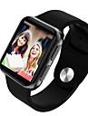 STSi69 Herren Smartwatch Android iOS Bluetooth Wasserfest Herzschlagmonitor Blutdruck Messung Touchscreen Verbrannte Kalorien Schrittzaehler Anruferinnerung AktivitaetenTracker Schlaf-Tracker Finden