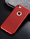 Кейс для Назначение Apple iPhone 8 Plus / iPhone 6 Матовое Кейс на заднюю панель Однотонный Твердый ПК для iPhone X / iPhone 8 Pluss / iPhone 8