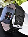 시계 밴드 용 Fitbit ionic 핏빗 스포츠 밴드 천연 가죽 손목 스트랩