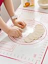 Bakeware 도구 실리콘 젤 멀티기능 / 크리 에이 티브 주방 가젯 브레드 베이킹 매트 및 라이너 1 개