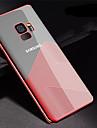 Etui Til Samsung Galaxy S9 Plus / S9 Belegg / Ultratynn / Gjennomsiktig Bakdeksel Linjer / boelger Myk TPU til S9 / S9 Plus