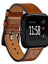 Watch Band for Fitbit Versa Fitbit Modern Buckle Genuine Leather Wrist Strap