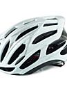 Scohiro-Work Adulți biciclete Casca 25 Găuri de Ventilaţie CE Rezistent la Impact Lumina Greutate Ventilație EPS Sport Ciclism / Bicicletă Camping - Negru Verde Roșu / alb / Modelată integral