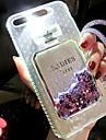 Coque Pour Apple iPhone 6s / Coque iPhone 5 Liquide / Lampe LED Allumage Auto Coque Brillant Dur TPU pour iPhone 8 Plus / iPhone 8 /