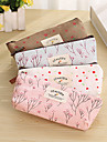 Pencil Cases Colorful, Linen / Cotton Blend Easy to Carry Organization /