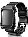 시계 밴드 용 Apple Watch Series 4/3/2/1 Apple 모던 버클 실리콘 손목 스트랩