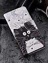 غطاء من أجل Samsung Galaxy S9 Plus / S9 محفظة / حامل البطاقات / مع حامل غطاء كامل للجسم قطة قاسي جلد PU إلى S9 / S9 Plus / S8 Plus
