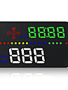 A300 3.5 in LED Przewodowa Wyświetlacz Head Up Nowy design / Night Vision / Monitorowanie 360 ° na Samochód Nawigacja GPS / Zmierz prędkość jazdy / Prędkość jazdy