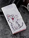 Case For Apple iPhone X / iPhone 8 Plus Wallet / Card Holder / with Stand Full Body Cases Cat Hard PU Leather for iPhone X / iPhone 8 Plus / iPhone 8