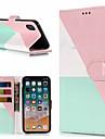 Funda Para Apple iPhone X / iPhone 8 Plus Cartera / Soporte de Coche / con Soporte Funda de Cuerpo Entero Marmol Dura Cuero de PU para iPhone X / iPhone 8 Plus / iPhone 8