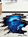 Koriste-seinätarrat / Lattia-tarrat - 3D-seinätarrat Maisema / 3D Olohuone / Makuuhuone / Kylpyhuone