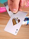 ace pokerový otvírák z nerezové oceli hrací karta pivního otvíráku