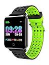 smartwatch m19 donne uomini frequenza cardiaca pressione sanguigna bluetooth impermeabile sport braccialetto intelligente per android ios