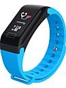 Смарт Часы R3C для Android iOS Bluetooth Водонепроницаемый Пульсомер Измерение кровяного давления Сенсорный экран Длительное время ожидания / Педометр / Датчик для отслеживания сна / будильник