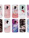 Case สำหรับ Samsung Galaxy S9 Plus / S9 IMD / Pattern ปกหลัง Marble Soft TPU สำหรับ S9 / S9 Plus / S8 Plus