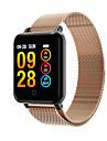 smartwatch m19 frauen männer herzfrequenz blutdruck bluetooth wasserdicht sport smart armband für android ios