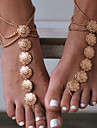 Barefoot Sandals - Flower Vintage Gold / Silver For Daily / Casual / Sports / Women\'s