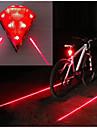 LED Bisiklet Işıkları Bisiklet Arka Işığı Tail Lights Bisiklet Su Geçirmez Portatif Yıpranmaz Li-ion 20 lm Şarj Edilebilir Güç Kırmızı Kamp / Yürüyüş / Mağaracılık Bisiklete biniciliği