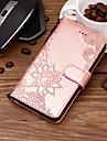 Capinha Para Samsung Galaxy J6 / J4 Carteira / Porta-Cartao / Com Suporte Capa Protecao Completa Lace Impressao Rigida PU Leather para J8 / J7 Prime / J7 (2017)