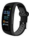 BoZhuo Q6-PRO Unisex Smart-Armband Android iOS Bluetooth Wasserfest Herzschlagmonitor Blutdruck Messung Verbrannte Kalorien UEbungs Tabelle Stoppuhr Schrittzaehler Anruferinnerung Schlaf-Tracker