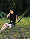 Hammock Outdoor Camping Portable, Lightweight Nylon Hunting, Fishing, Hiking for 2 person