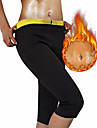Body Shaper Afslankbroek Capri-legging neopreeni Rekbaar Heet zweet Gewichtsverlies Tummy Fat Burner Buikcontrole Yoga Training&Fitness Bikram yoga Voor Heren Dames Been Buik Opleiding