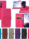 케이스 제품 Nokia Nokia 6 2018 / Nokia X6 지갑 / 카드 홀더 / 스탠드 전체 바디 케이스 솔리드 / 만다라 / 버터플라이 하드 PU 가죽 용 Nokia 8 / Nokia 7 Plus / Nokia 6
