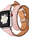 Watch kapela pro Apple Watch Series 4/3/2/1 Apple Sportovní značka Pravá kůže Poutko na zápěstí