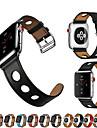 Urrem for Apple Watch Series 4/3/2/1 Apple Klassisk spænde / Læderrem Ægte læder Håndledsrem