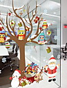 Window Film & Stickers Decoration Christmas Holiday PVC(PolyVinyl Chloride) Cool / Shop / Cafe