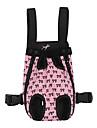 Собаки Коты Переезд и перевозные рюкзаки Животные Корпусы Компактность На каждый день Бант Черный Розовый