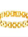 Herre Stilfuldt Kæde & Lænkearmbånd 18K Guld Kreativ Afslappet / Sportslig Armbånd Smykker Guld Til Fest Daglig