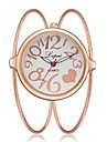 Жен. Часы-браслет Кварцевый Серебристый металл / Золотистый / Розовое золото Новый дизайн Повседневные часы Аналоговый Дамы Мода Элегантный стиль -  / Один год / Один год
