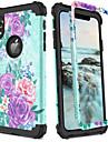 BENTOBEN Coque Pour Apple iPhone XR / iPhone XS Max Antichoc / Motif / Wireless Charging Receiver Case Coque Paysage / Fleur / Degrade de Couleur Dur PC / Le gel de silice pour iPhone XR / iPhone XS