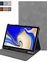 Etui Til Samsung Galaxy Tab S4 10.5 (2018) Flipp / Magnetisk / Auto Sove / Våkne Heldekkende etui Ensfarget Hard PU Leather til Tab S4 10.5 (2018)