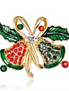 Women\'s Vintage Style / 3D Brooches - Rhinestone Ladies, Unique Design, Classic Brooch Jewelry Rainbow For Christmas / New Year