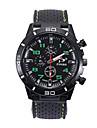 Men\'s Sport Watch Quartz Black Casual Watch Analog Fashion - Red Green Blue